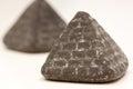Pyramid liquorice close up Stock Photo
