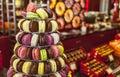 Photo : Pyramid of Macarons are