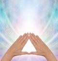 Pyramid Power Energy Healing Royalty Free Stock Photo