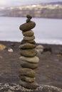 Pyramid of stones Royalty Free Stock Photo