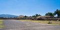 Pyramid of The Sun Teotihuacan Royalty Free Stock Photos