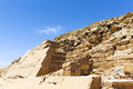Pyramid of unas egypt the is located at saqqara Royalty Free Stock Photo