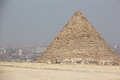 The Pyramids of Giza, Cairo, Egypt. Royalty Free Stock Images