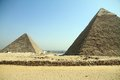Pyramids of Giza El Cairo Egypt Royalty Free Stock Photography