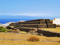 Pyramids guimar tenerife canary islands spain Royalty Free Stock Image