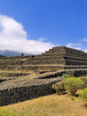 Pyramids guimar tenerife canary islands spain Royalty Free Stock Photo