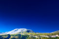 Pyrenees mountains and blue sky Royalty Free Stock Photo