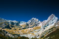 Pyrenees mountains and blue sky Royalty Free Stock Photography