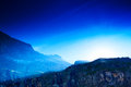 Pyrenees mountains and blue sky Royalty Free Stock Images
