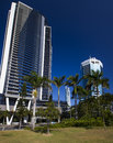 Q building at surfers paradise surfer s gold coast in queensland australia the iconic is seen in the middle in the distance Stock Photos
