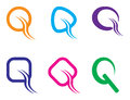 Q logo Royalty Free Stock Image
