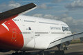 Qantas A380 Royalty Free Stock Photography