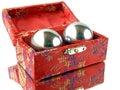 Qi-Gong-bowls Royalty Free Stock Photo