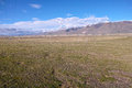 Qiangtang grassland the landscape of in naqu tibet china Royalty Free Stock Images