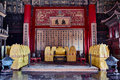 Qianqinggong palace of heavenly purity imperial palace forbidden city beijing china Stock Images