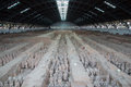 Qin dynasty terracotta army xian sian china Stock Photography