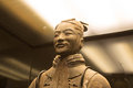 Qin dynasty terracotta army xian sian china Royalty Free Stock Photography
