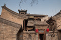 Qing dynasty house Pingyao Xian China Royalty Free Stock Photo