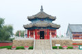 Qing dynasty pagoda temple the first emperor of the in china kuandian Royalty Free Stock Photos