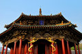 Qing Dynasty palace(dazheng palace ) Stock Photography