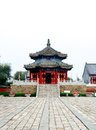 Qing dynasty temple the first emperor pagoda of the in china kuandian Royalty Free Stock Photography
