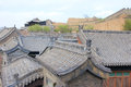 Qing long ancient town the landscape of in taiyuan shanxi china Royalty Free Stock Photo