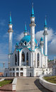 Qolsharif Mosque in Kazan Kremlin Stock Photo