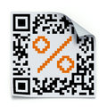 QR code concept Stock Photography