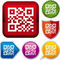 QR code icon Stock Photo