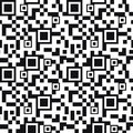 QR code seamless pattern background Royalty Free Stock Photo