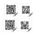 QR codes Royalty Free Stock Photography