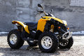 Quadbike ATV Royalty Free Stock Image