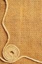 Quadro do rolo das cordas Fotografia de Stock Royalty Free