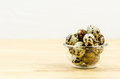 Quail egg a good food for protein need Stock Images