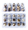 Quail eggs isolate Royalty Free Stock Photo