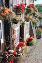 Quaint Old British Pub in Summer, England. Royalty Free Stock Photo