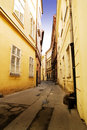 Quaint Street Prague Stock Photos
