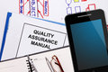 Quality assurance manual Royalty Free Stock Photo