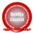 Quality Control Seal Royalty Free Stock Image