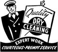 Quality Dry Cleaning Royalty Free Stock Photo