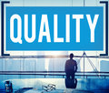 Quality Guarantee Value Grade Satisfaction Concept Royalty Free Stock Photo
