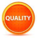 Quality Natural Orange Round Button
