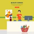 Quality Service Concept