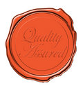 Quality wax seal Royalty Free Stock Photo