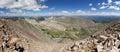 Quandary Peak Panorama Royalty Free Stock Photo