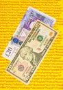 Quantitative easing. Royalty Free Stock Photo