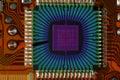 Quantum chip Royalty Free Stock Photo