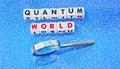 Quantum world Royalty Free Stock Photo
