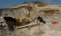 Quarry of stones in studena bulgaria Stock Photo