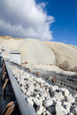 Quarrying plant Stock Images